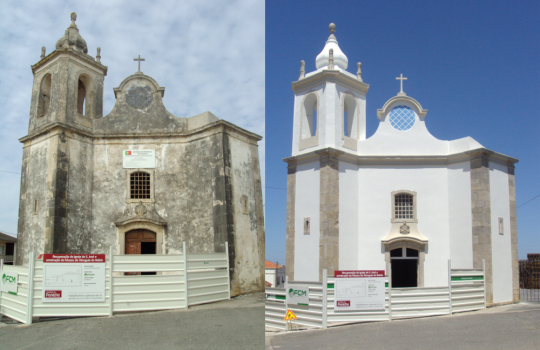 St. Joseph Church and Museum in Atouguia da Baleia